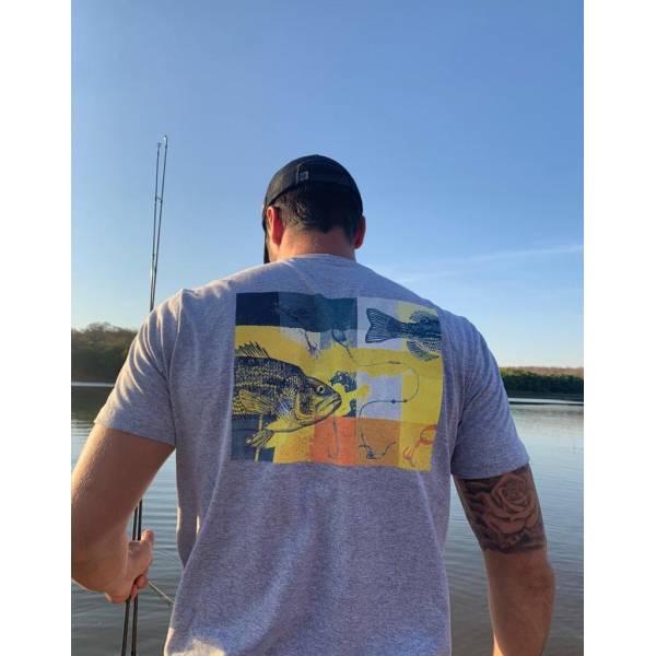 CAMISETA CASUAL FISHING COLOR P
